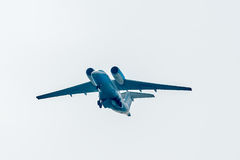 Flying AN-74 of Utair Cargo company Stock Photography