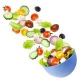 Greek salad. stock photo
