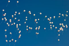 Flyingballoons Royalty Free Stock Photography
