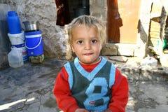 Flyktingläger i Irak royaltyfri foto