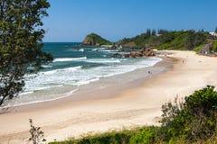 Flynns Beach Port Macquarie Stock Image