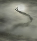 Flyoff ведьмы Стоковые Фотографии RF