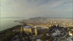 Flyover το φρούριο απόθεμα βίντεο