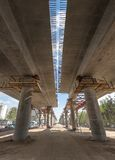 Flyover construction Royalty Free Stock Images