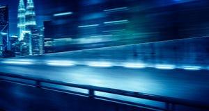 flyover effekt för hastighet för rörelsesuddighet royaltyfria bilder