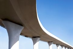 Flyover Royalty Free Stock Images