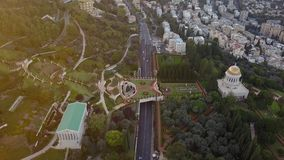 Flyover park w Israel podczas lata zbiory wideo