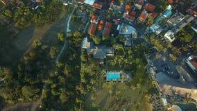 Flyover plażowy klub w Bali zbiory wideo