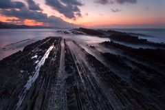 Flysch Stock Photo