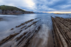 Flysch de Zumaia Stock Photo
