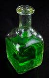 flytande för flaskgreen Royaltyfri Fotografi