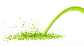 Flytandegräsplan Royaltyfria Foton