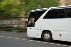 flytta sig för buss Fotografering för Bildbyråer