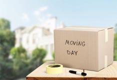 flytta sig för hus arkivfoton