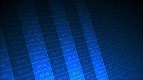 Flytta sig för nummerekonomi royaltyfri illustrationer