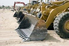 flytta sig för jordutrustning Arkivfoton