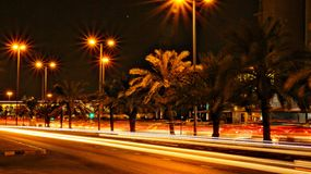 Flytta sig och Countinuous ljus Royaltyfri Fotografi