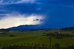 flyttande fram thunderstorm Royaltyfri Bild
