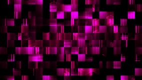 Flyttande längd i fot räknatbakgrund för rosa PIXEL royaltyfri illustrationer