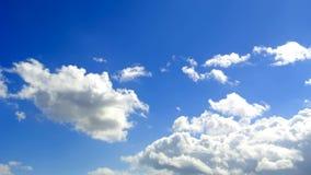 Flyttande molnanimering stock video
