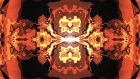 Flyttning för turbulent energilava som moln för målarfärg för Digital mjuk dekorativt symmetriskt vinkar nytt unikt för animering vektor illustrationer