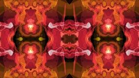 Flyttning för turbulent energilava som moln för målarfärg för Digital mjuk dekorativt symmetriskt vinkar nytt unikt för animering royaltyfri illustrationer