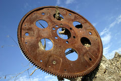 Flywheel Stock Photo