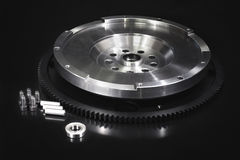 Flywheel with starter ring gear Royalty Free Stock Photography