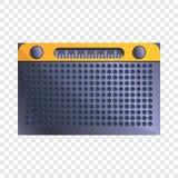 Fm收音机象,动画片样式 库存例证