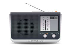 AM FM Bandradio Stock Afbeelding