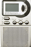 Am and fm radio. Radio am fm macro front view Royalty Free Stock Photos