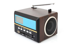 FM receiver and MP3 player Royalty Free Stock Photography
