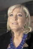 FMarine Le Pen Przyjeżdża przy 2015 100 czasu galówką Obraz Royalty Free