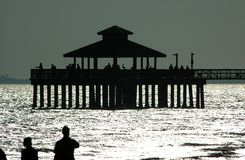 FMB fishing pier Royalty Free Stock Photography