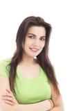 Fêmea de sorriso Imagem de Stock