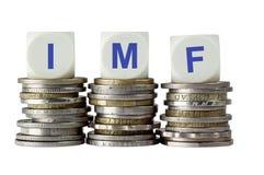 FMI (fondo monetario internazionale) - Fondo monetario internazionale Fotografie Stock Libere da Diritti