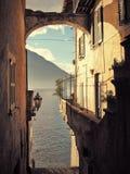 Fmous Italian lake Como Royalty Free Stock Photo