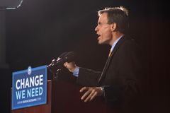 Fmr. Regering Mark Warner bij Verzameling Obama Stock Afbeeldingen