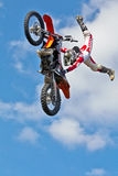 FMX air stunts Royalty Free Stock Photos