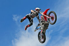 FMX high jump Royalty Free Stock Image