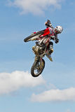 FMX jump Stock Photography