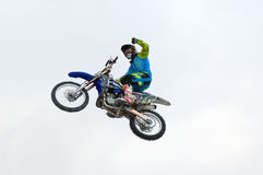 FMX-Reiter Ivan Kargopoltsev Stockfotos