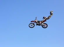 FMX Rider Royalty Free Stock Photo