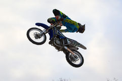 FMX rider Ivan Kargopoltsev Stock Photo