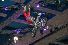 FMX rider Stock Image