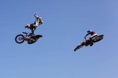 FMX riders stock photos