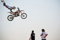Fmx riders Royalty Free Stock Image