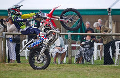 FMX wheelie Royalty Free Stock Photography