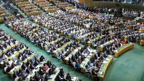 FN-generalsekreterare Ban Ki-moon lager videofilmer