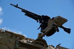 Fn-MAGEN är en belgare 7 allmän-avsikt för mm som 62 maskingevär planläggs i den tidiga 50-tal på Fabrique Nationale Royaltyfria Foton